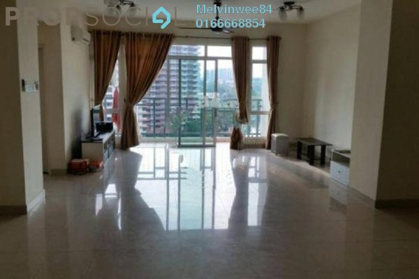 For Rent Condominium at The Boulevard, Subang Jaya Leasehold Semi Furnished 4R/3B 2.3k