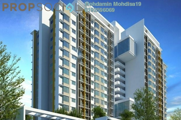 For Rent Apartment at Green Street Homes, Seremban 2 Freehold Unfurnished 3R/2B 1.3k