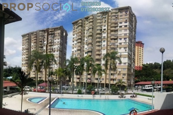 For Sale Apartment at Winner Court A, Desa Petaling Leasehold Semi Furnished 3R/2B 280k