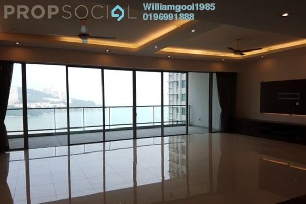 For Rent Condominium at Infinity, Tanjung Bungah Freehold Semi Furnished 3R/3B 7k