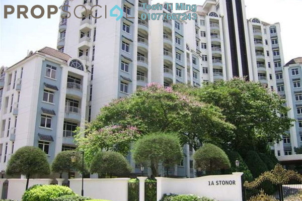For Rent Condominium at 1A Stonor, KLCC Leasehold Fully Furnished 1R/1B 2.4k