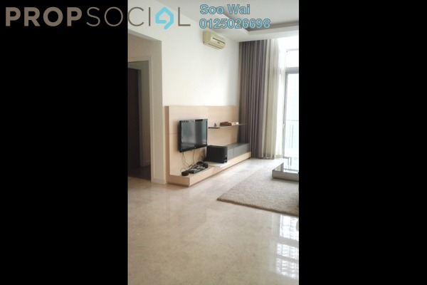 For Rent Condominium at Marc Service Residence, KLCC Freehold Semi Furnished 4R/0B 15k