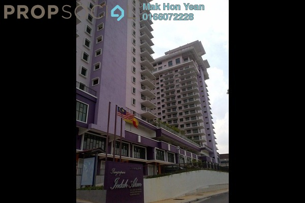 For Rent Condominium at Indah Alam, Shah Alam Freehold Semi Furnished 3R/2B 1.7k