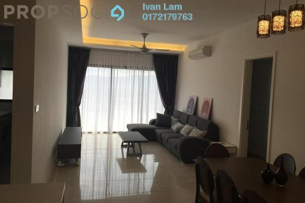 For Rent Condominium at The Horizon Residences, KLCC Freehold Fully Furnished 3R/3B 7k