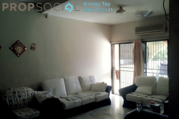 For Sale Terrace at Taman Jinjang Baru, Jinjang Freehold Semi Furnished 4R/3B 598k