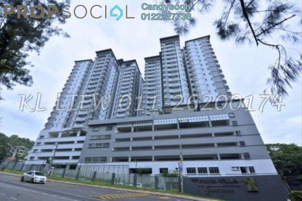 For Rent Condominium at Green Terrain, Cheras South Freehold Semi Furnished 4R/3B 1.7k