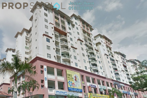 For Rent Condominium at Vista Magna, Kepong Leasehold Unfurnished 3R/2B 1k