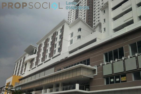 For Rent Condominium at Axis Residence, Pandan Indah Leasehold Semi Furnished 2R/2B 1.7k