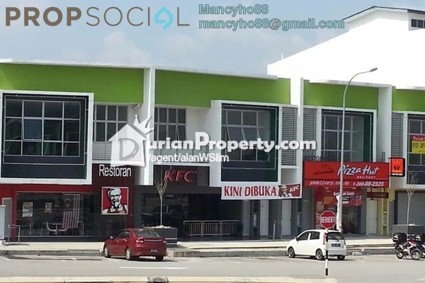 For Rent Shop at Rembulan, Bandar Enstek Freehold Unfurnished 0R/0B 1k