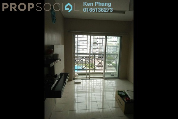 For Rent Condominium at Casa Riana, Bandar Putra Permai Leasehold Semi Furnished 3R/2B 1.1k