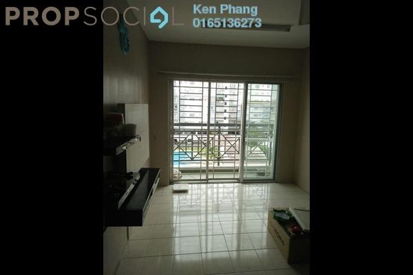 For Rent Condominium at Casa Riana, Bandar Putra Permai Leasehold Semi Furnished 3R/2B 1.1k