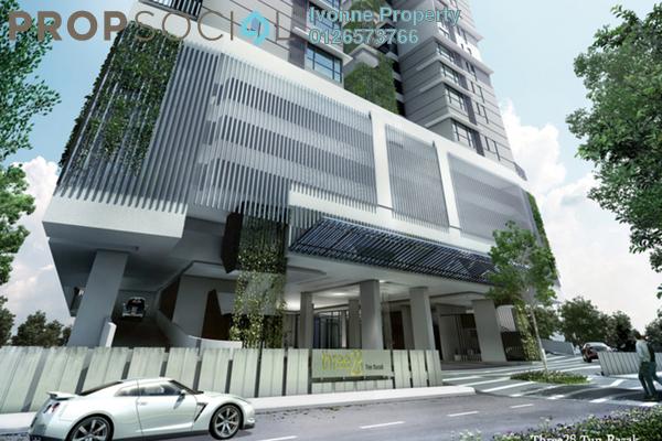 For Rent Condominium at Three28 Tun Razak, KLCC Freehold Fully Furnished 1R/2B 3.5k