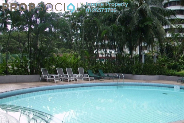 For Rent Condominium at UBN Apartment, KLCC Freehold Fully Furnished 1R/1B 3k