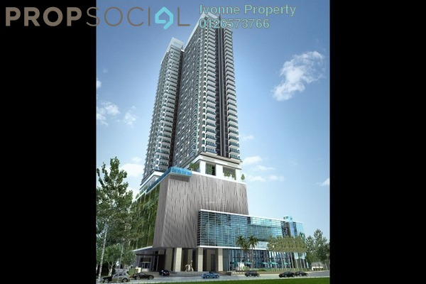 For Rent Condominium at The Horizon Residences, KLCC Freehold Fully Furnished 3R/3B 8.5k