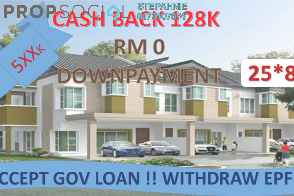 For Sale Terrace at Forest Heights, Seremban Freehold Unfurnished 4R/4B 500k