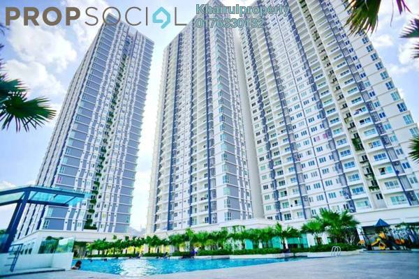 For Rent Condominium at Scenaria, Segambut Freehold Semi Furnished 4R/3B 2.3k