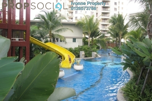 For Rent Condominium at Kiaramas Cendana, Mont Kiara Freehold Fully Furnished 4R/4B 7k
