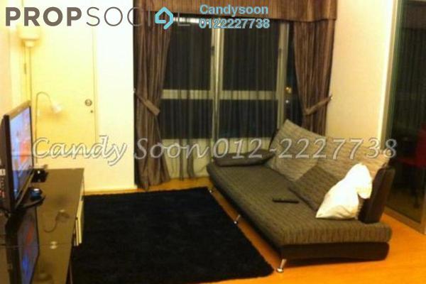 For Rent Condominium at i-Zen Kiara I, Mont Kiara Freehold Fully Furnished 2R/2B 3.8k