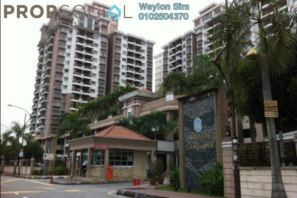For Rent Condominium at Ampang Boulevard, Ampang Leasehold Semi Furnished 3R/2B 2.1k