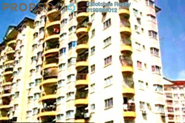 For Sale Condominium at Pandan Cahaya, Pandan Indah Leasehold Fully Furnished 2R/2B 443k