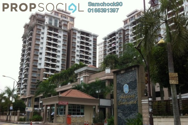 For Rent Condominium at Ampang Boulevard, Ampang Leasehold Semi Furnished 3R/2B 2k