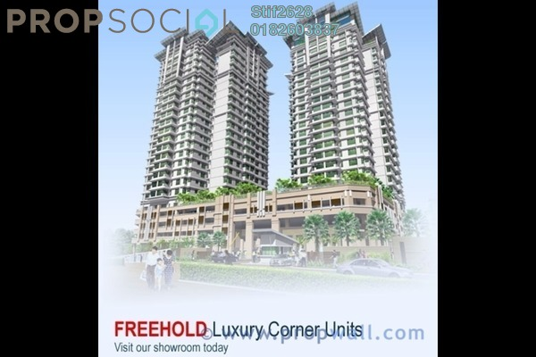 For Sale Condominium at 1Sentul, Sentul Freehold Unfurnished 3R/2B 610k