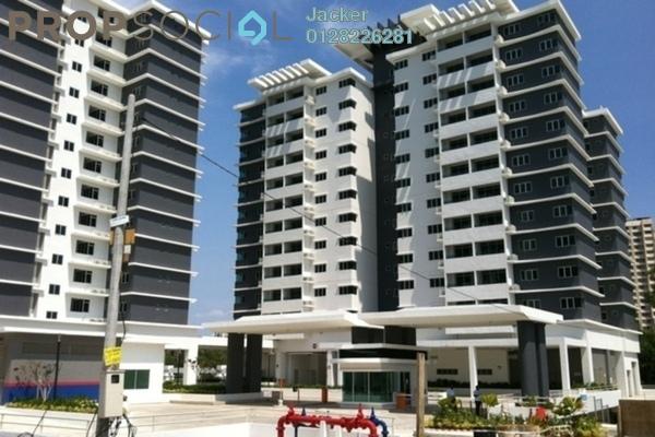 For Rent Condominium at Kiara Residence, Bukit Jalil Leasehold Semi Furnished 3R/2B 1.7k