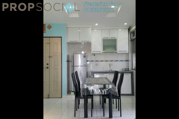 For Rent Apartment at Sri Saujana, Johor Freehold Fully Furnished 3R/2B 1.5k