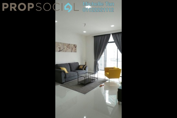 For Rent Condominium at Mirage Residence, KLCC Freehold Fully Furnished 2R/2B 4.5k
