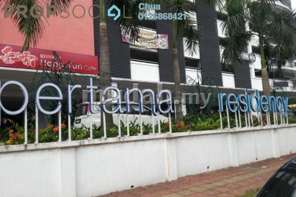 For Rent Condominium at Pertama Residency, Cheras Leasehold Fully Furnished 1R/1B 1.6k
