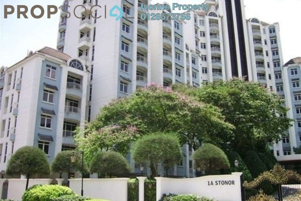 For Rent Condominium at 1A Stonor, KLCC Leasehold Fully Furnished 3R/3B 6.5k