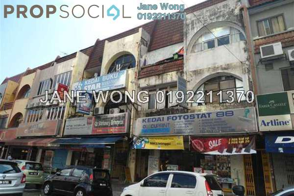 For Sale Townhouse at Taman SEA, Petaling Jaya Freehold Fully Furnished 3R/2B 680k