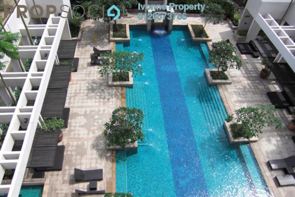 For Sale Condominium at The CapSquare Residences, Dang Wangi Freehold Semi Furnished 3R/3B 1.3m