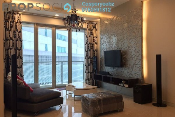 For Rent Serviced Residence at Marc Service Residence, KLCC Freehold Fully Furnished 3R/2B 6k