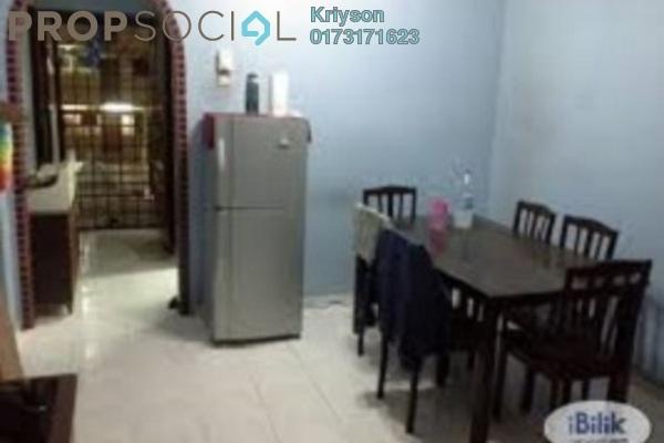 For Sale Condominium at Putra Ria Apartment, Bangsar Freehold Semi Furnished 3R/1B 200k