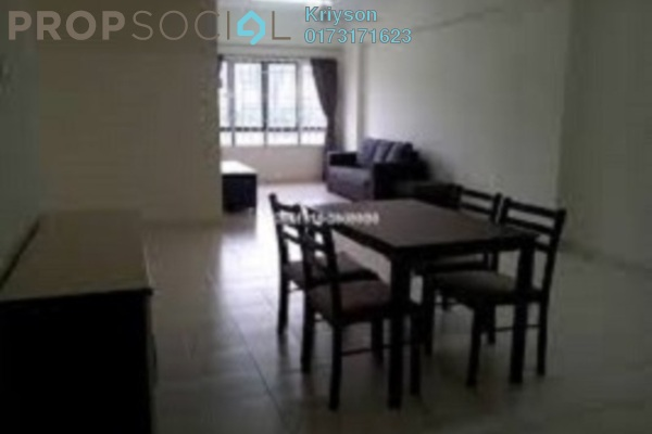 For Sale Condominium at Nusa Mewah, Cheras Leasehold Unfurnished 3R/2B 345k