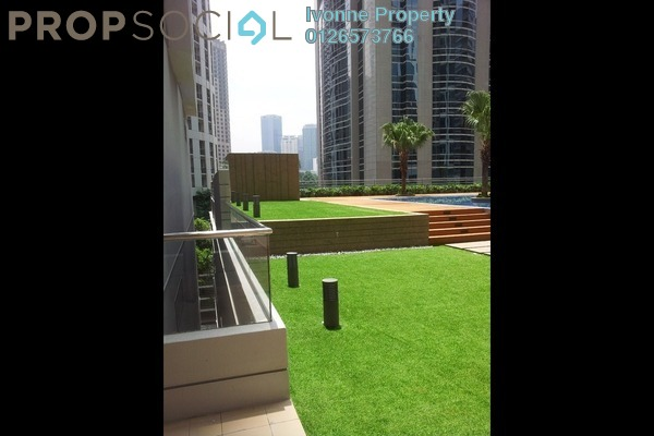 For Sale Condominium at Soho Suites, KLCC Freehold Semi Furnished 1R/0B 842k