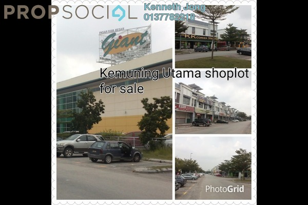 For Sale Shop at Kemuning Utama Commercial Centre, Kemuning Utama Freehold Unfurnished 0R/2B 1.5m