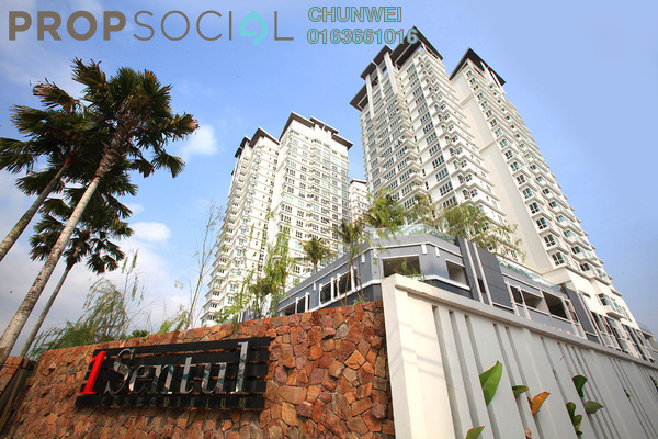 For Rent Condominium at 1Sentul, Sentul Freehold Fully Furnished 3R/2B 2k