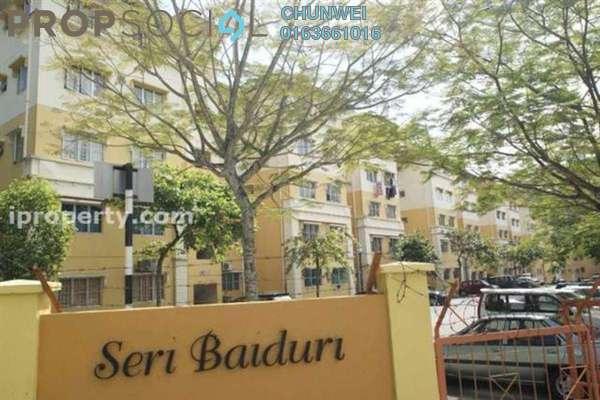 For Rent Apartment at Sri Baiduri Apartment, Ukay Leasehold Semi Furnished 3R/2B 1.2k