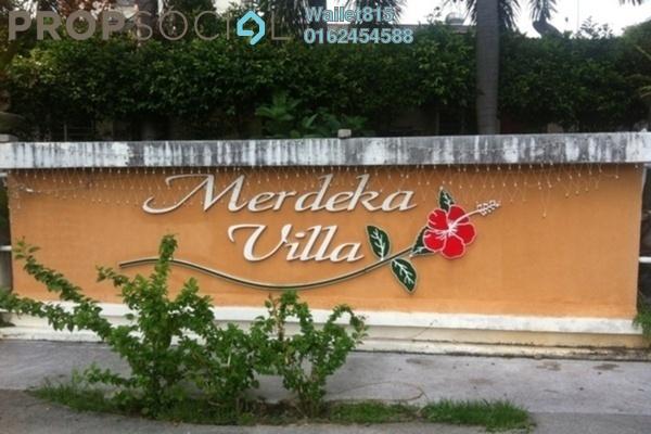 For Rent Condominium at Merdeka Villa, Ampang Leasehold Fully Furnished 3R/1B 1.1k