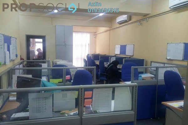 For Sale Office at Section 9, Shah Alam Leasehold Semi Furnished 0R/0B 2m
