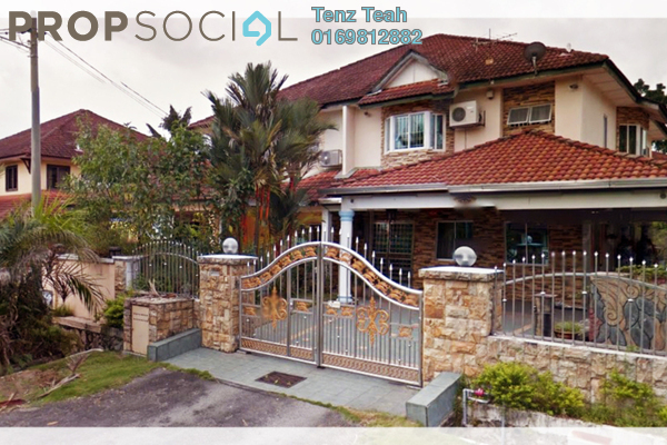 For Sale Semi-Detached at Taman Bukit Permai, Bandar Mahkota Cheras Freehold Semi Furnished 4R/3B 1.35m