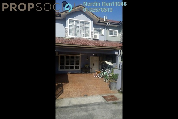 For Sale Terrace at Taman Lagenda Suria, Hulu Langat Freehold Semi Furnished 4R/3B 580k