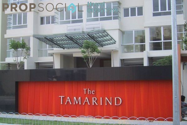 For Sale Condominium at The Tamarind, Sentul Freehold Semi Furnished 3R/2B 710k