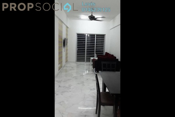 For Rent Apartment at Nusa Mewah, Cheras Leasehold Semi Furnished 3R/2B 1.3k