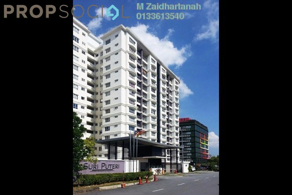 For Sale Condominium at Suri Puteri, Shah Alam Leasehold Semi Furnished 4R/2B 455k