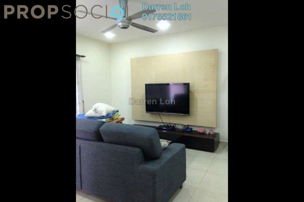 For Rent Apartment at Mawar Apartment, Sentul Leasehold Fully Furnished 3R/2B 1.8k