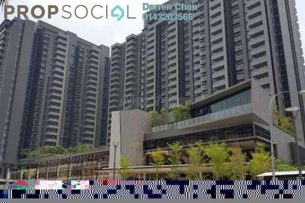 For Rent Condominium at Gembira Residen, Kuchai Lama Freehold Semi Furnished 3R/2B 2.1k