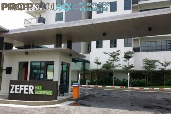 For Rent Condominium at Zefer Hill Residence, Bandar Puchong Jaya Freehold Semi Furnished 3R/3B 1.6k